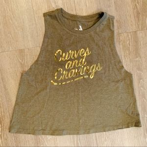 Tops - Curves & Cravings Muscle Tank